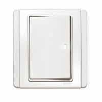 10A單位橫按板開關掣連LED燈 (單控/雙控)