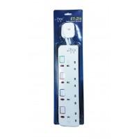 安全拖板(獨立燈掣配3米電線及13A插頭).